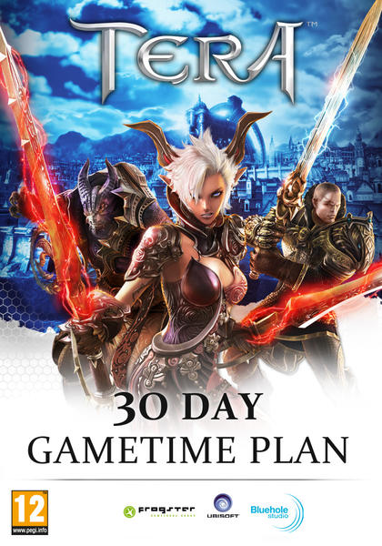 Best Deals On TERA 30 Days Time Card Game Card