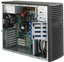 Supermicro SC732i-500B 500W (Nero)