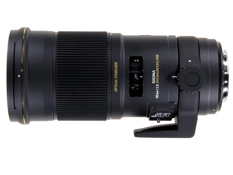 Sigma 180/2,8 EX DG OS HSM APO Macro for Canon