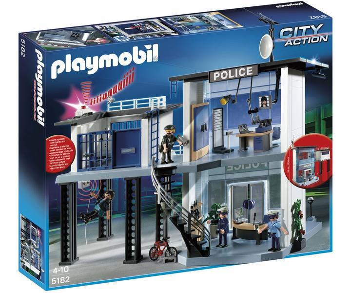 historique de prix de playmobil police 5182 commissariat de police avec syst me d 39 alarme. Black Bedroom Furniture Sets. Home Design Ideas