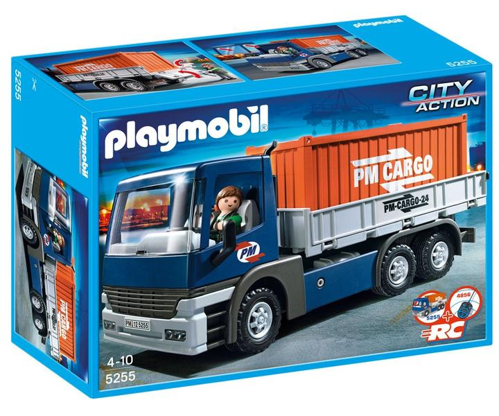 historique de prix de playmobil transport 5255 camion porte conteneurs playmobil trouver le. Black Bedroom Furniture Sets. Home Design Ideas
