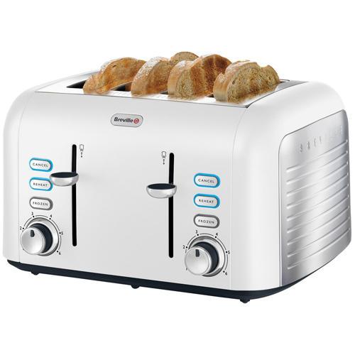 best deals on breville opula vtt451 4 slice toaster. Black Bedroom Furniture Sets. Home Design Ideas
