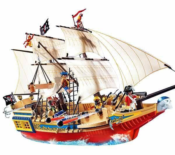 Best Deals On Playmobil Pirates 4290 Large Pirate Ship