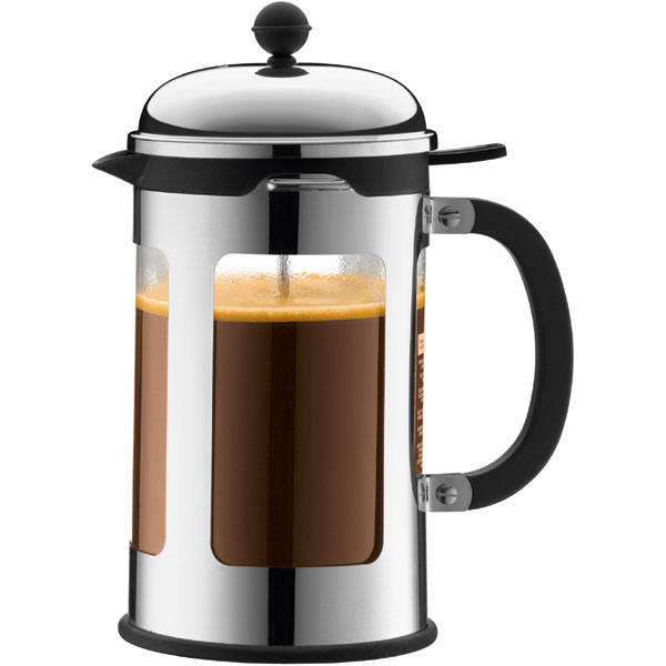 best deals on bodum chambord krom 12 cups filter coffee machine compare prices on pricespy. Black Bedroom Furniture Sets. Home Design Ideas