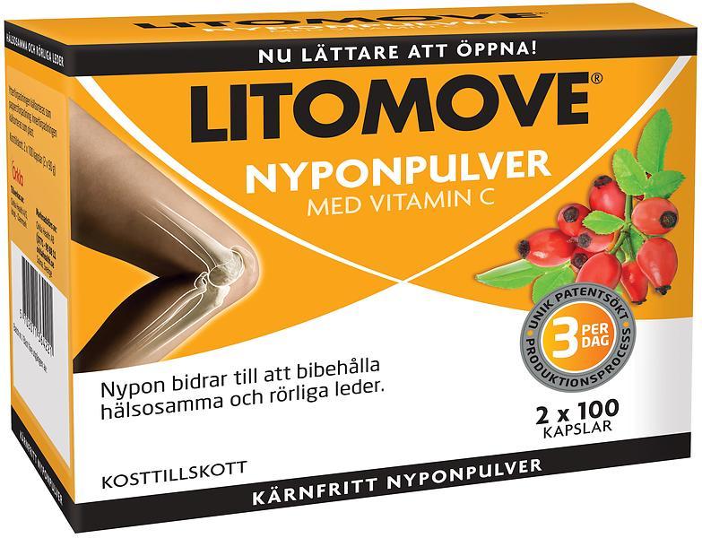 litomove dubbelpack 2 x 100 kapslar