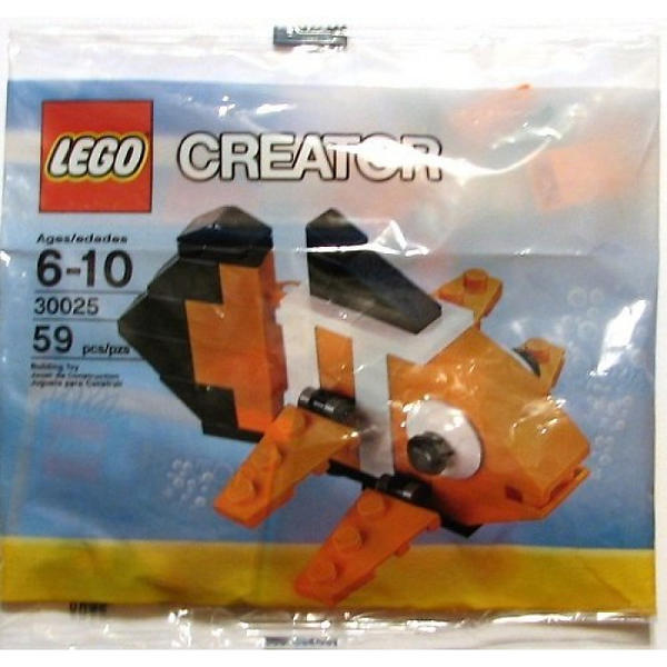 Best deals on lego creator 30025 clown fish lego compare for Clown fish price