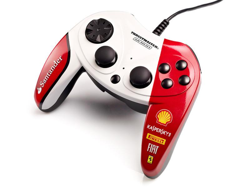 Thrustmaster F1 Dual Analog Gamepad Ferrari 150th Italia Exclusive Edition PC