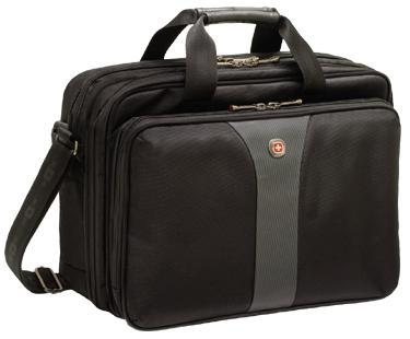 """Wenger Legacy Double Gusset Computer Case 16"""""""
