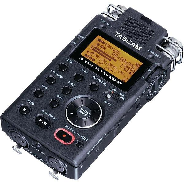 best deals on tascam dr 100 mkii portable recorder dictaphone compare prices on pricespy. Black Bedroom Furniture Sets. Home Design Ideas