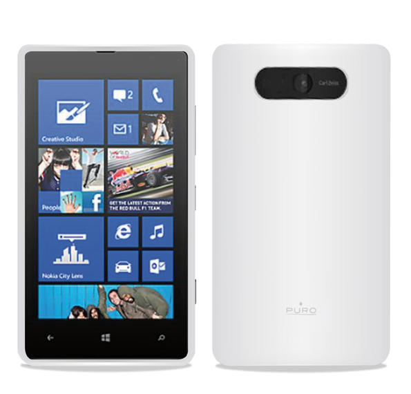 Puro Silicon Case for Nokia Lumia 820