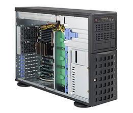 Supermicro SC745BTQ-R1K28B-SQ 1280W (Nero)