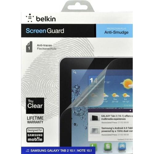 Belkin TrueClear Anti-Smudge Screen Protector for Samsung Galaxy Tab 2 10 1