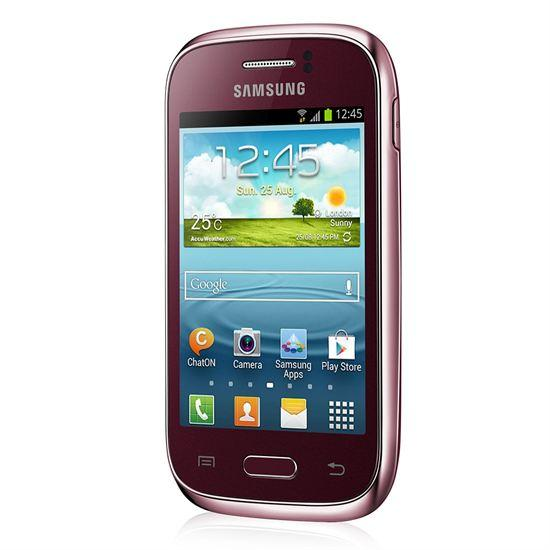 samsung galaxy young gt s6310 au meilleur prix comparez les offres de t l phone portable sur. Black Bedroom Furniture Sets. Home Design Ideas