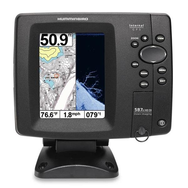 Best deals on humminbird 587cxi hd di combo fish finder for How to read a humminbird fish finder