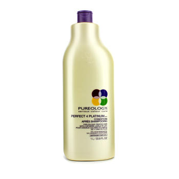 historique de prix de pureology perfect 4 platinum conditioner 1000ml apr s shampoing trouver. Black Bedroom Furniture Sets. Home Design Ideas