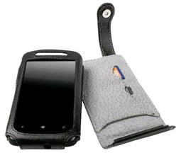 Krusell Orbit Flex Leather Case for HTC HD7