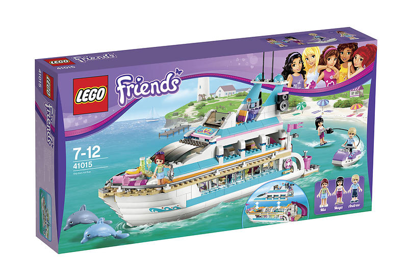 Best deals on LEGO Friends 41015 Dolphin Cruiser LEGO - Compare ...
