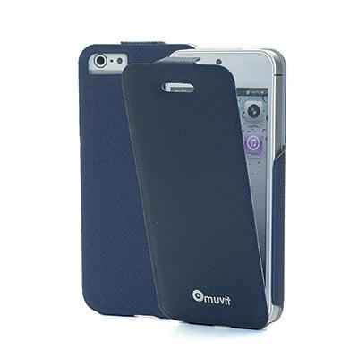 Muvit PU iFlip Skinny Case for iPhone 5/5s/SE