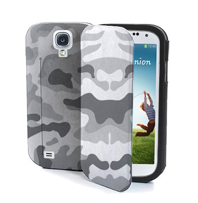 Muvit Eco-Leather Army Case for Samsung Galaxy S4