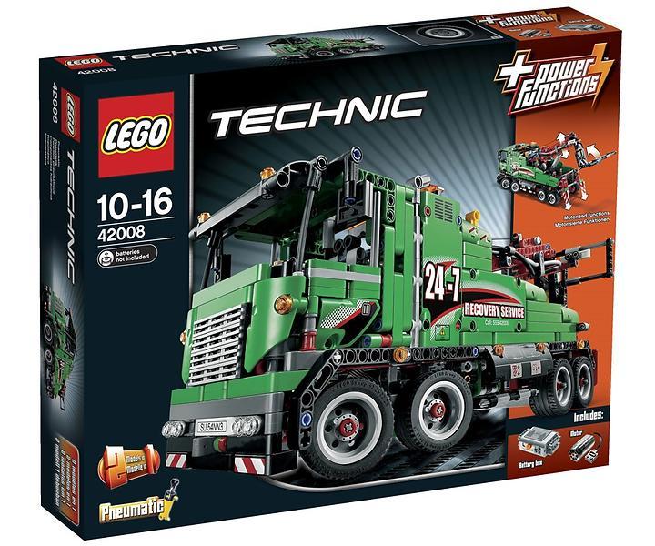 lego technic 42008 le camion de service au meilleur prix comparez les offres de lego sur. Black Bedroom Furniture Sets. Home Design Ideas