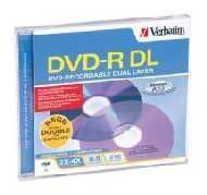 Verbatim DVD-R DL 8,5GB 4x 1pz Jewelcase
