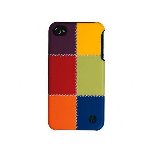 Trexta Snap On Patchwork for iPhone 4/4S