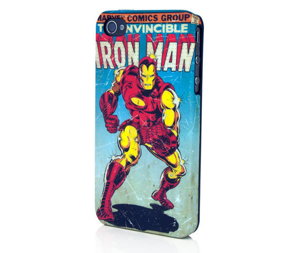 PDP Marvel Iron Man Bling Clip Case for iPhone 4/4S