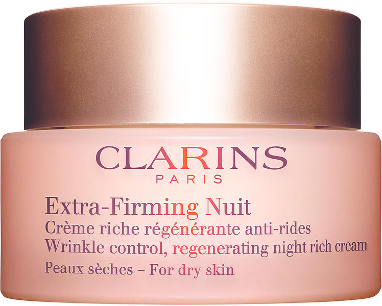 clarins extra raffermissante cr me de nuit peau s che 50ml au meilleur prix comparez les. Black Bedroom Furniture Sets. Home Design Ideas