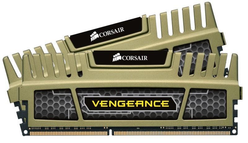 Corsair XMS3 Vengeance Green DDR3 1600MHz 2x4GB (CMZ8GX3M2B1600C9G)