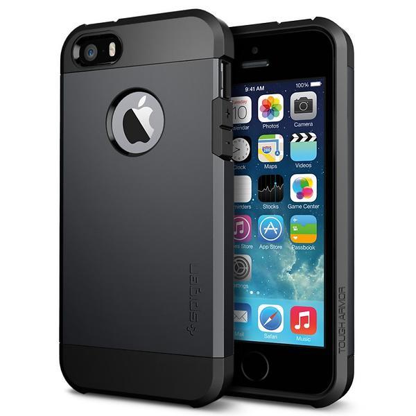 Prisutveckling på Spigen Tough Armor for iPhone 5 5s SE Skal   skärmskydd  till mobil - Hitta bästa priset f1abec43f5c14