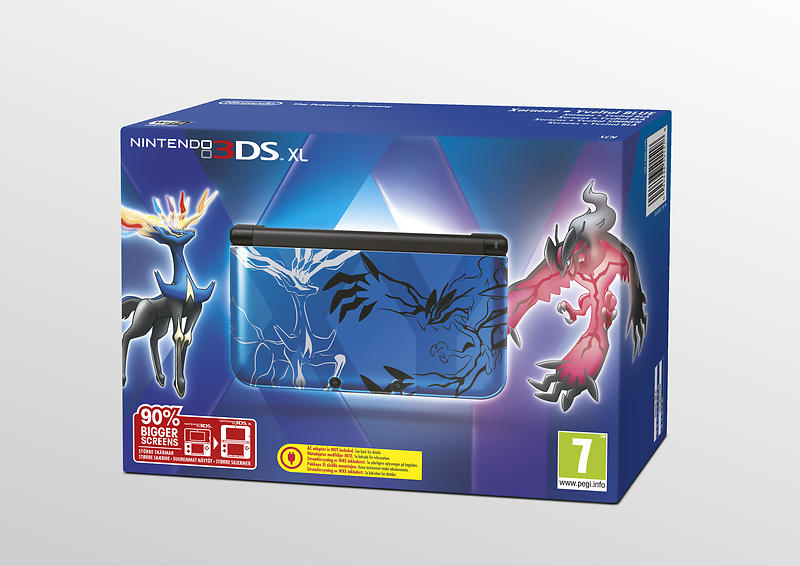Nintendo 3DS XL (+ Pokémon XY) - Limited Edition