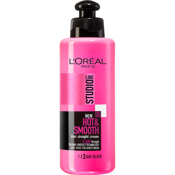 Best deals on l 39 oreal studio line hot smooth hot for Loreal salon hair products