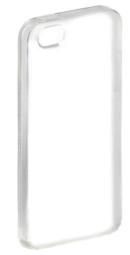 AmazonBasics Protective TPU Plastic Case & Screen Protector for iPhone 5/5s/SE