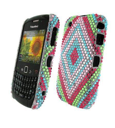 Bling It On Back Cover Diamante Diamond for BlackBerry Curve 8520