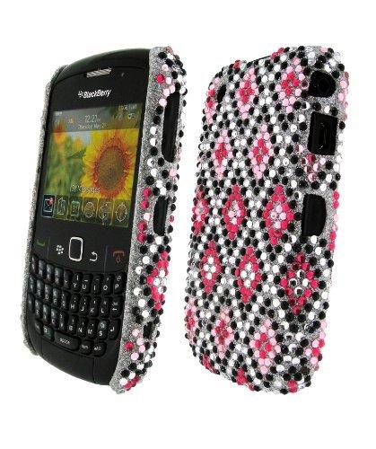 Bling It On Back Cover Diamante Mini Diamond for BlackBerry Curve 8520