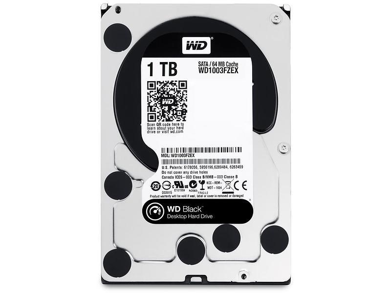 WD Black WD1003FZEX 64MB 1TB