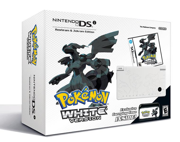 Nintendo DSi (+ Pokémon Black/White) - Reshiram & Zekrom Special Edition