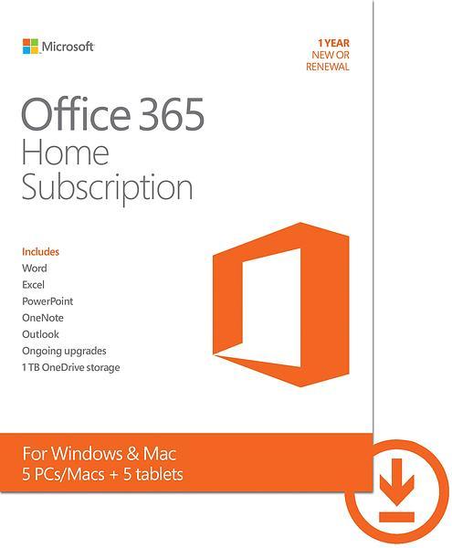 Bild på Microsoft Office 365 Home MUI från Prisjakt.nu