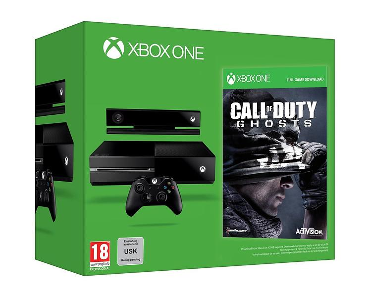Microsoft Xbox One 500GB (+ Kinect + Call of Duty: Ghosts)