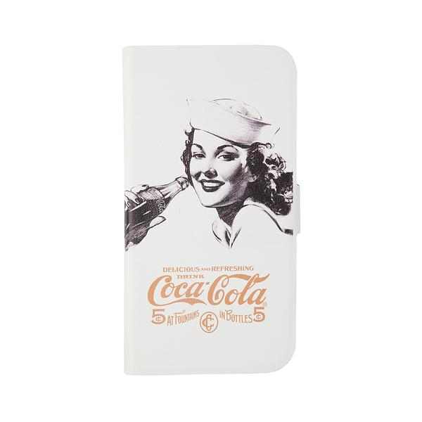 Coca-Cola Booklet Case Golden Beauty for Samsung Galaxy S4