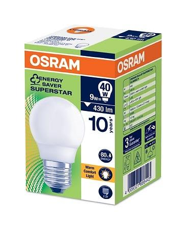 Osram Dulux Superstar Classic P 825 430lm 2500K E27 9W
