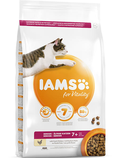 Iams Senior Cat Food Best Price
