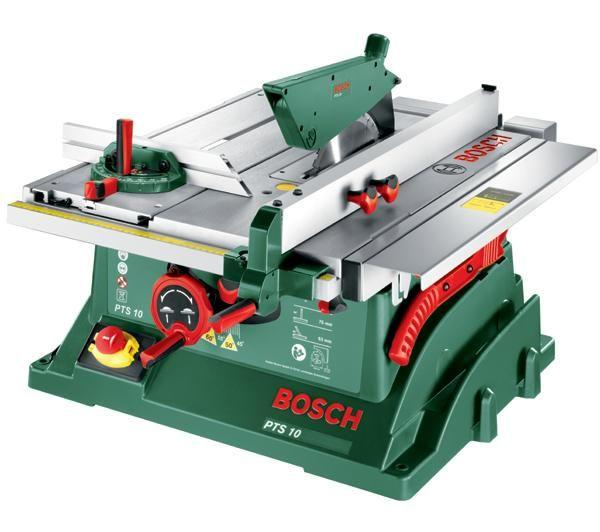 best deals on bosch pts 10 table saw compare prices on pricespy. Black Bedroom Furniture Sets. Home Design Ideas
