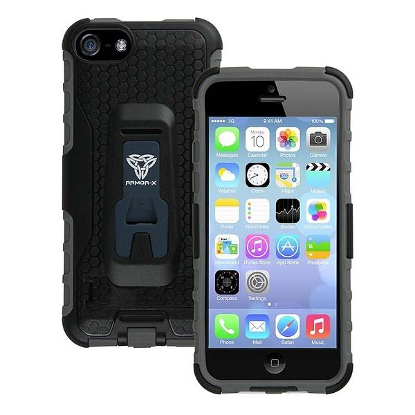 Armor-X Rugged Case with X-Mount & Kickstand for iPhone 5c