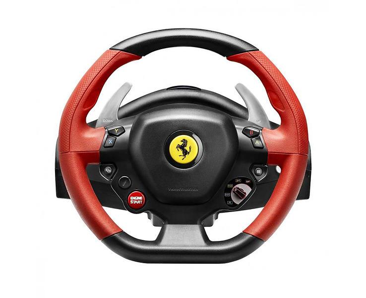 d tails produit thrustmaster ferrari 458 spider racing wheel xbox one volant p dale. Black Bedroom Furniture Sets. Home Design Ideas
