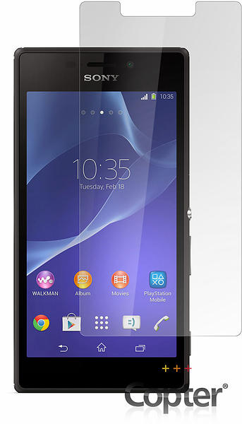 Copter Screenprotector for Sony Xperia M2