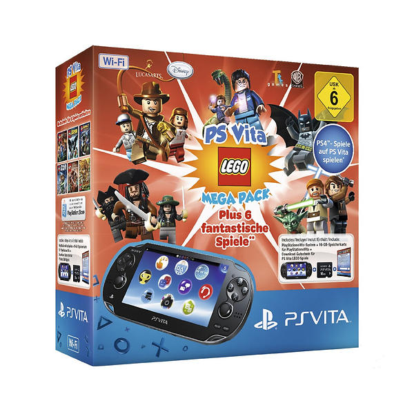 Sony PlayStation Vita (+ LEGO Mega Pack)