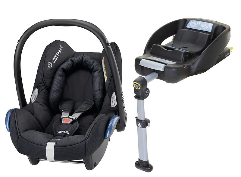 best deals on maxi cosi cabriofix incl easyfix base child car seat compare prices on pricespy. Black Bedroom Furniture Sets. Home Design Ideas