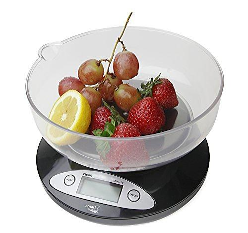 Best deals on smart weigh csb5kg kitchen scale compare for Best smart kitchen scale