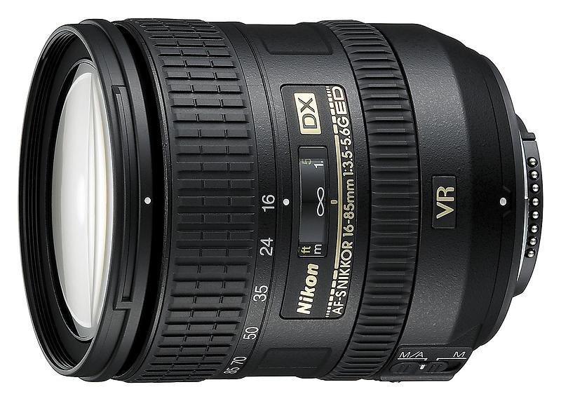 Nikon Nikkor AF-S DX 16-85/3,5-5,6 G ED VR